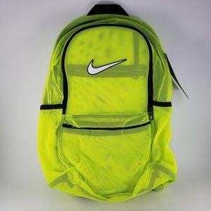 Nike Brasilia Netted Zip Up Training Backpack